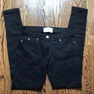 Zara Black jean leggings